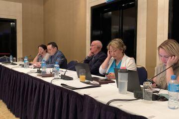 Информация по заседанию Национальной Межсекторальной Рабочей Группы (НМРГ) в рамках регионального проекта USAID по водным ресурсам и окружающей среде