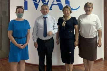 Информация по встрече  директора МЦОВ Серика Ахметова с представителями регионального проекта USAID по водным ресурсам и окружающей среде