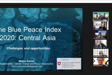 Информация об вебинаре по программе «Вода как движущая сила устойчивого восстановления: экономические, институциональные и стратегические аспекты управления водными ресурсами в Центральной Азии»