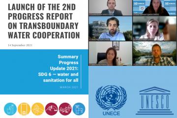 Вебинар: Презентация второго отчета о ходе трансграничного водного сотрудничества: глобальный статус показателя 6.5.2 ЦУР и потребности в ускорении
